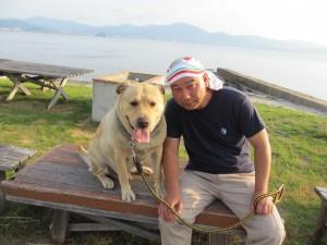 木村さんとペロ